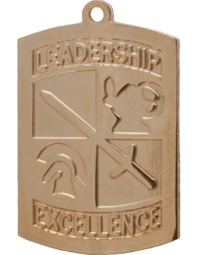 ROTC Medal (RC-ML104A) Leadership Excellence Gold