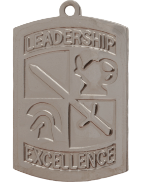 ROTC Medal (RC-ML104B) Leadership Excellence Silver
