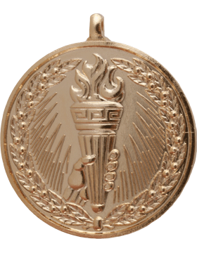 ROTC Medal (RC-ML105A) Torch with Wreath Gold