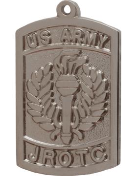 ROTC Medal (RC-ML108B) Junior ROTC Patch Silver