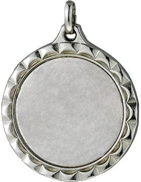 RC-ML303B MEDAL FOR 1in INSERT SILVER #M109S