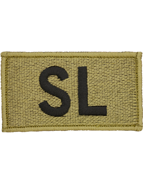 SL Bagby Green Leadership Patch with Fastener