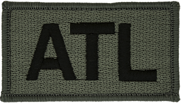 ATL Foliage Leadership Patch with Fastener