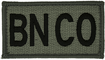BN CO Foliage Leadership Patch with Fastener