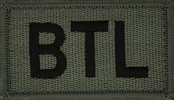 BTL Foliage Leadership Patch with Fastener