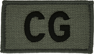 CG Foliage Leadership Patch with Fastener
