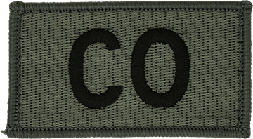 CO Foliage Leadership Patch with Fastener