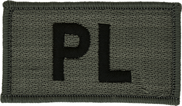 PL Foliage Leadership Patch with Fastener