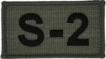 S-2 Foliage Leadership Patch with Fastener