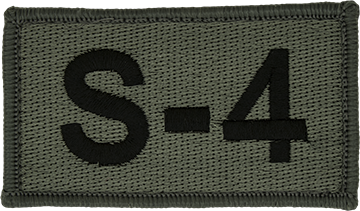 S-4 Foliage Leadership Patch with Fastener