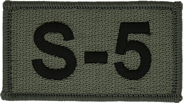 S-5 Foliage Leadership Patch with Fastener