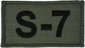 S-7 Foliage Leadership Patch with Fastener