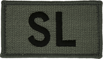 SL Foliage Leadership Patch with Fastener