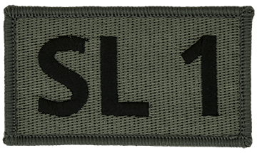 SL-1 Foliage Leadership Patch with Fastener