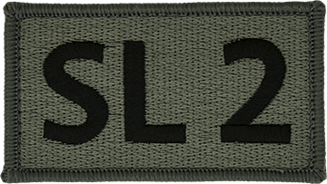 SL 2 Foliage Leadership Patch with Fastener