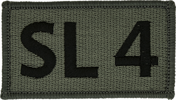 SL 4 Foliage Leadership Patch with Fastener