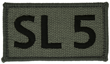 RC-PV-025, SL 5 Foliage Leadership Patch with Fastener
