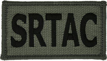 SRTAC Foliage Leadership Patch with Fastener