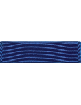 ROTC Ribbon (RC-R701) Honor Roll Royal Blue (L-1)