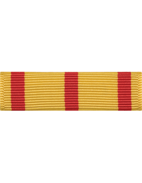 ROTC Ribbon (RC-R704) Good Conduct Yellow and Red (L-4)