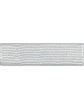 ROTC Ribbon (RC-R711) Color Guard White (L-11)