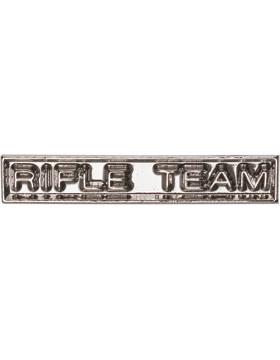 ROTC Ribbon Device (RC-RD208) Rifle Team Silver small