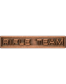 ROTC Ribbon Device (RC-RD209) Rifle Team Bronze