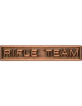 ROTC Ribbon Device (RC-RD209) Rifle Team Bronze small