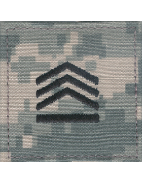 Army ROTC ACU Rank, Cadet Staff Sergeant