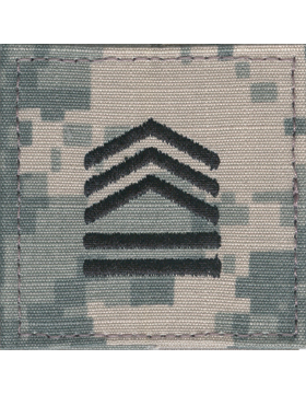 Army ROTC ACU Rank, Cadet Sergeant First Class