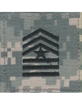 Army ROTC ACU Rank, Cadet Sergeant Major