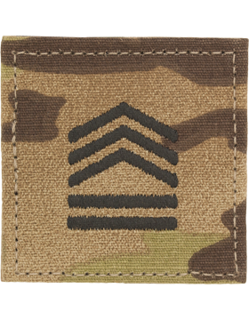 Army ROTC Rank, Cadet Sergeant First Class