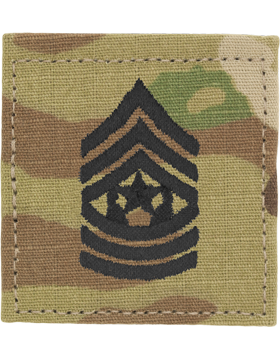 Army ROTC Rank, Cadet Command Sergeant Major