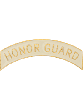 ROTC Tab (RC-T105) Honor Guard Cream with Gold Letters