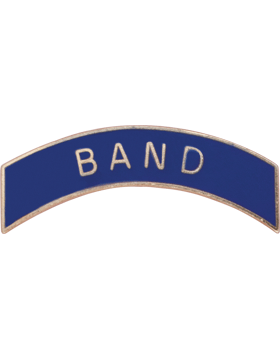ROTC Tab (RC-T109) Band Navy with Gold Letters