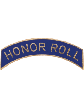 ROTC Tab (RC-T110) Honor Roll Navy with Gold Letters