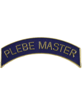 ROTC Tab (RC-T115) Plebe Master Royal Blue with Gold Letters