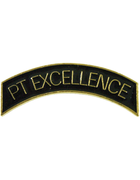 ROTC Metal Arc Tab PT EXCELLENCE