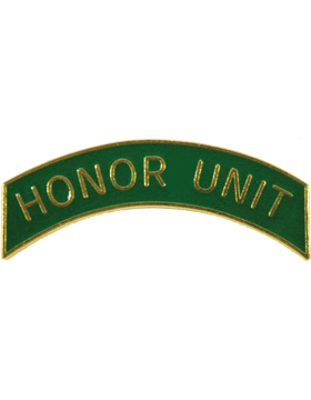 ROTC Metal Arc Tab HONOR UNIT