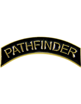 ROTC Metal Arc Tab PATHFINDER