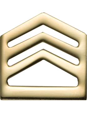 No-Shine Army ROTC Rank (RC-105) Staff Sergeant