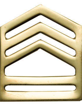 No-Shine Army ROTC Rank (RC-106) Sergeant First Class