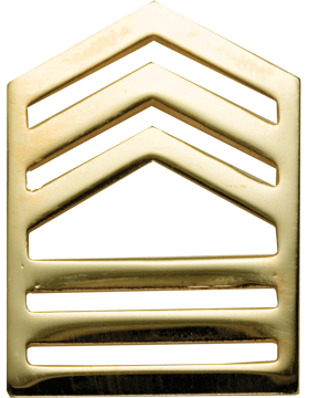 No-Shine Army ROTC Rank (RC-107) Master Sergeant