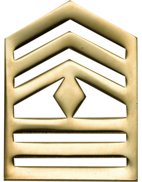 No-Shine Army ROTC Rank (RC-108) First Sergeant