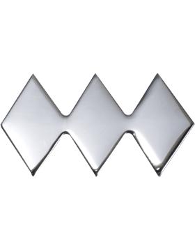 No-Shine Army ROTC Rank (RC-126) Colonel (Three Diamond Smooth)