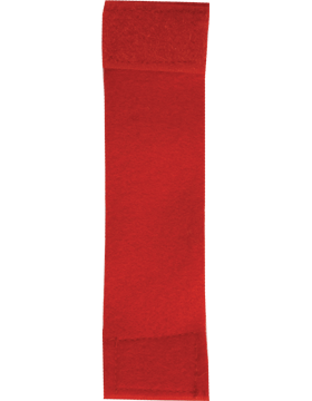 Felt Leadership Tab (RC-203) Red with Fastener (543)