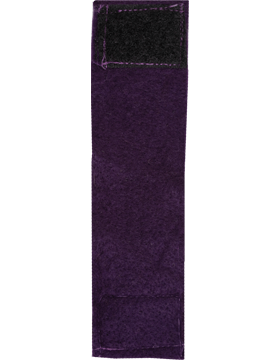 Felt Leadership Tab (RC-206) Purple with Fastener (484)
