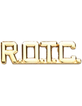 ROTC Collar Insignia Letters (Pair)