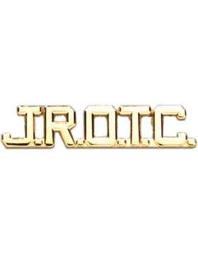 JROTC Collar Insignia Letters (Pair)