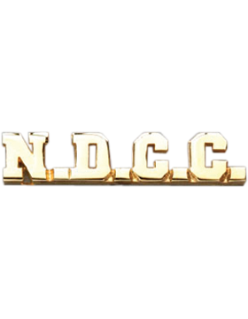 NDCC Collar Insignia Letters